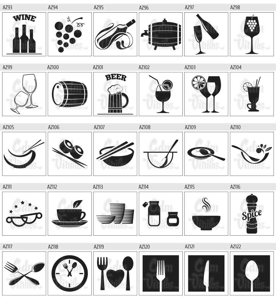 pack de vinilos decorativos para azulejos de cocinas y baÑos | cdm