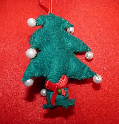 Arbol de Navidad fieltro