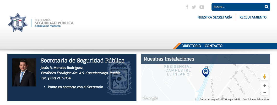 ¡CONOCE MÁS DE LA SSP PUEBLA!