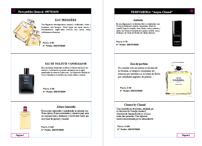 Cat logos perfumeria acqua chanel for Catalogo acqua e sapone 2015