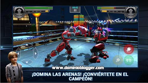 Combate con robots en Real Steel Champions
