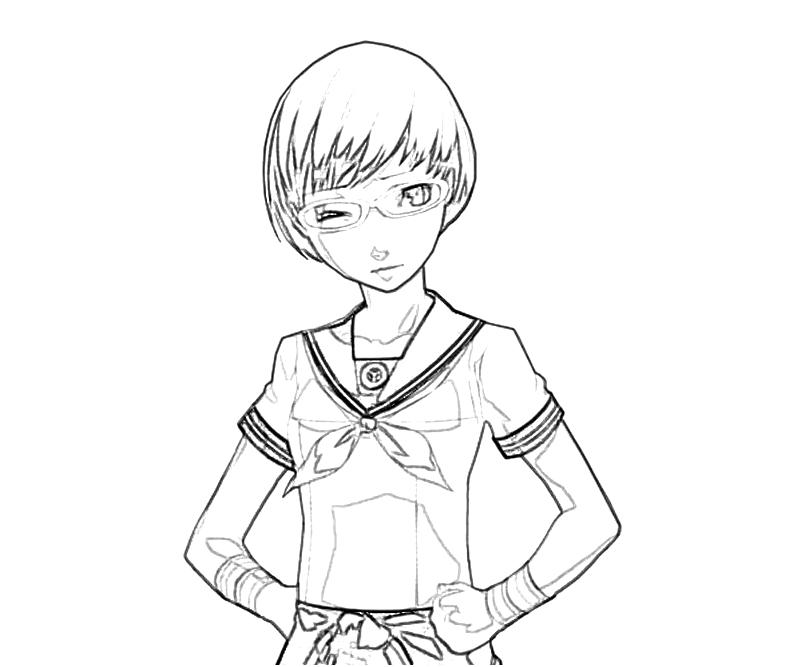 printable-chie-satonaka-dress-coloring-pages