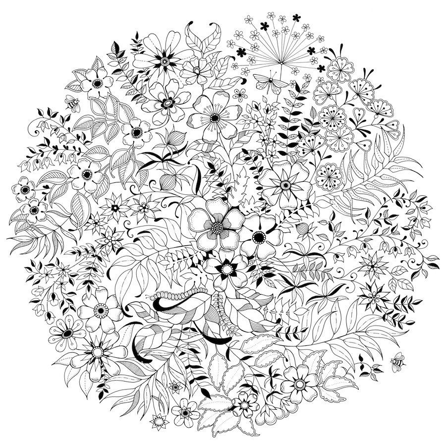 Adults colouring in books - Adult Coloring Books