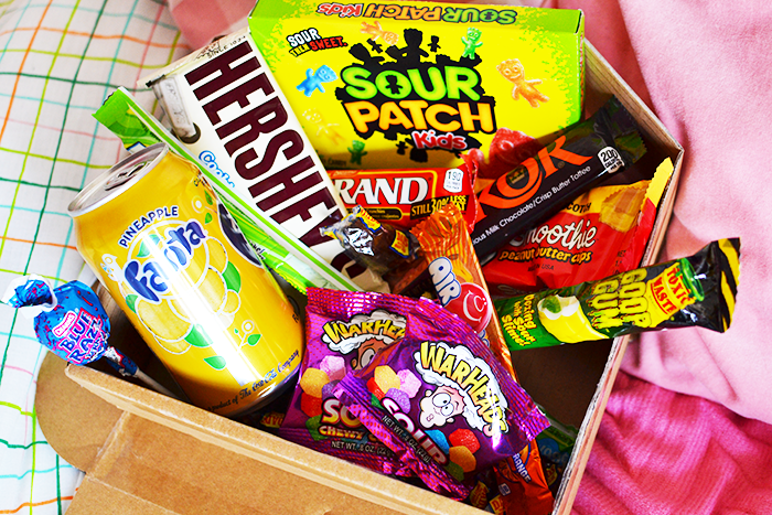 Taffy Mail American Candy Box UK | Colours and Carousels - Scottish Lifestyle, Beauty & Fashion Blog