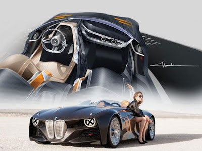 Concept Cars 2000: 2011 BMW Sport Cars Concept 328 Hommage