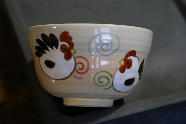 chawan coq et poule