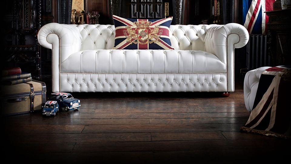 Divani chesterfield COLLINS & COOPER, originali inglesi realizzati a mano nel Regno Unito