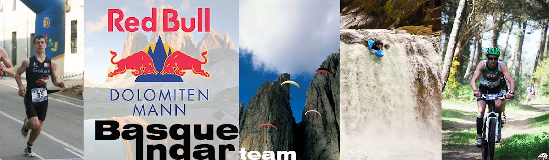 Basque Indar Team en el Red Bull Dolomitenmann