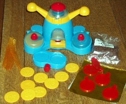 Golden coin maker contents