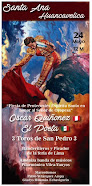 Anuncian a Oscar Quiñones, en Santa Ana- Huancavelica, 24/05