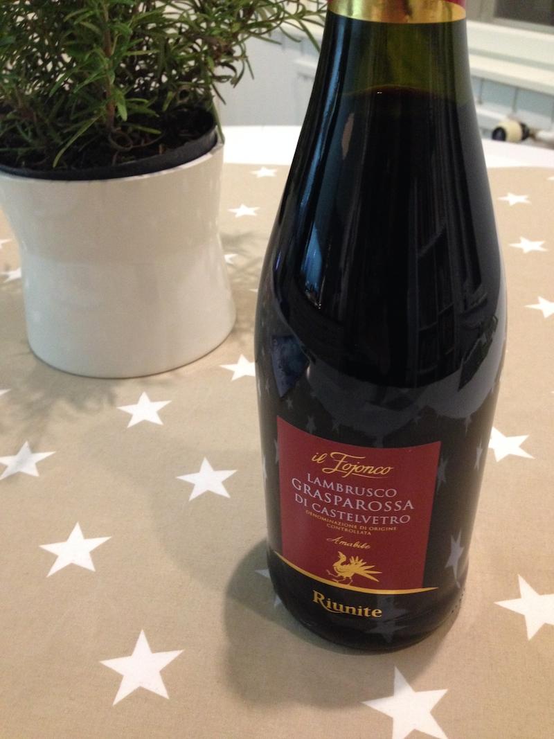 Lambrusco viini