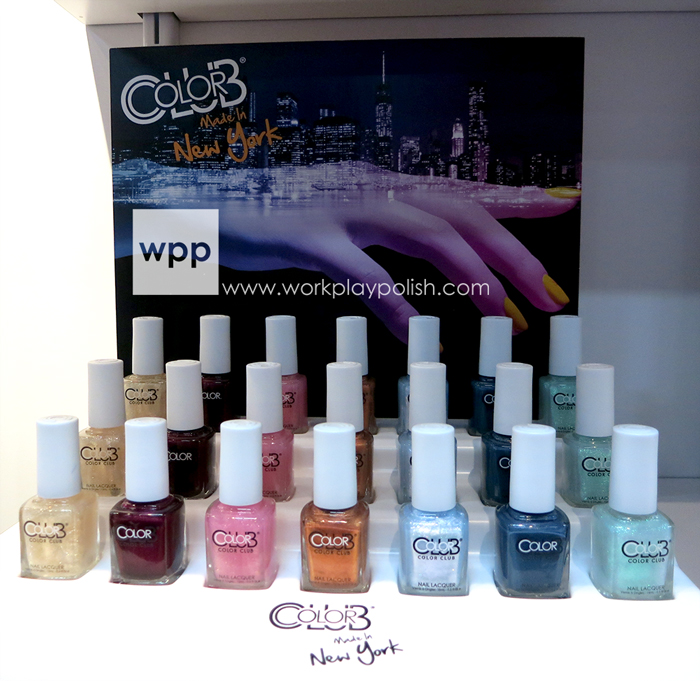 Color Club Made in New York Collection