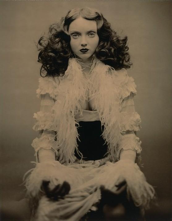 vintage portrait lily cole