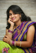 Krishnaveni glam in half saree-thumbnail-6