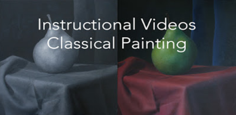 Classical Painting Video and ONLINE Art Lessons