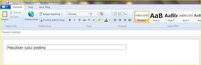 cara membuat postingan blog tanpa sambungan internet blogging offline