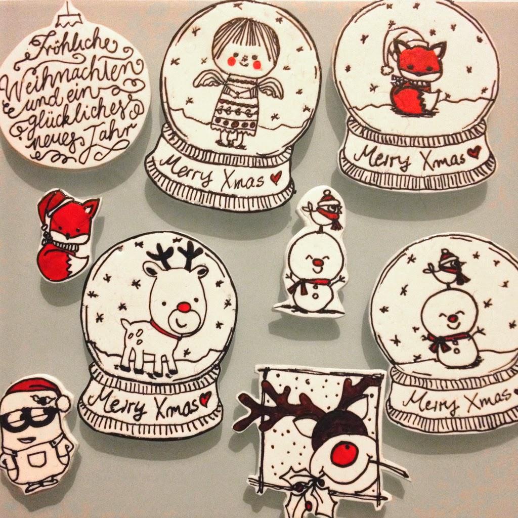 Shrinkydinks Anstecker Weihnachten