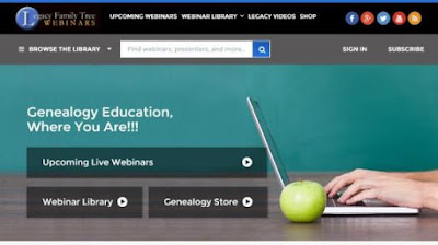 Legacy Family Tree announces updated genealogy education mobile-responsive site with new features now available for all 275 genealogy courses