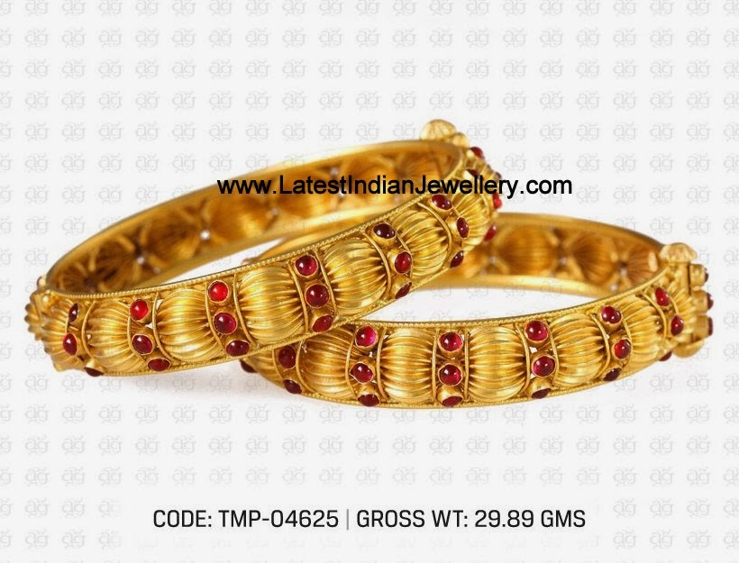 Traditional Temple Jewellery Bangles