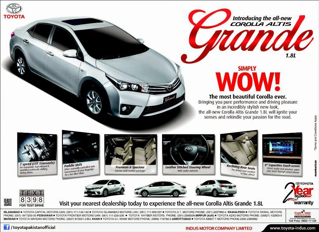 ... Corolla GLi New Model 2014 Price In Pakistan   Price in Pakistan