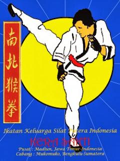 Lambang IKSPI Kera Sakti (Ikatan Keluarga Silat Putra Indonesia)