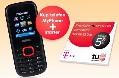 Telefon komórkowy MyPhone 3200 z Biedronki 2014