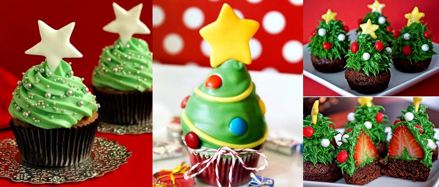 pop culture and fashion magic christmas desserts cupcakes - Christmas Dessert Decorations