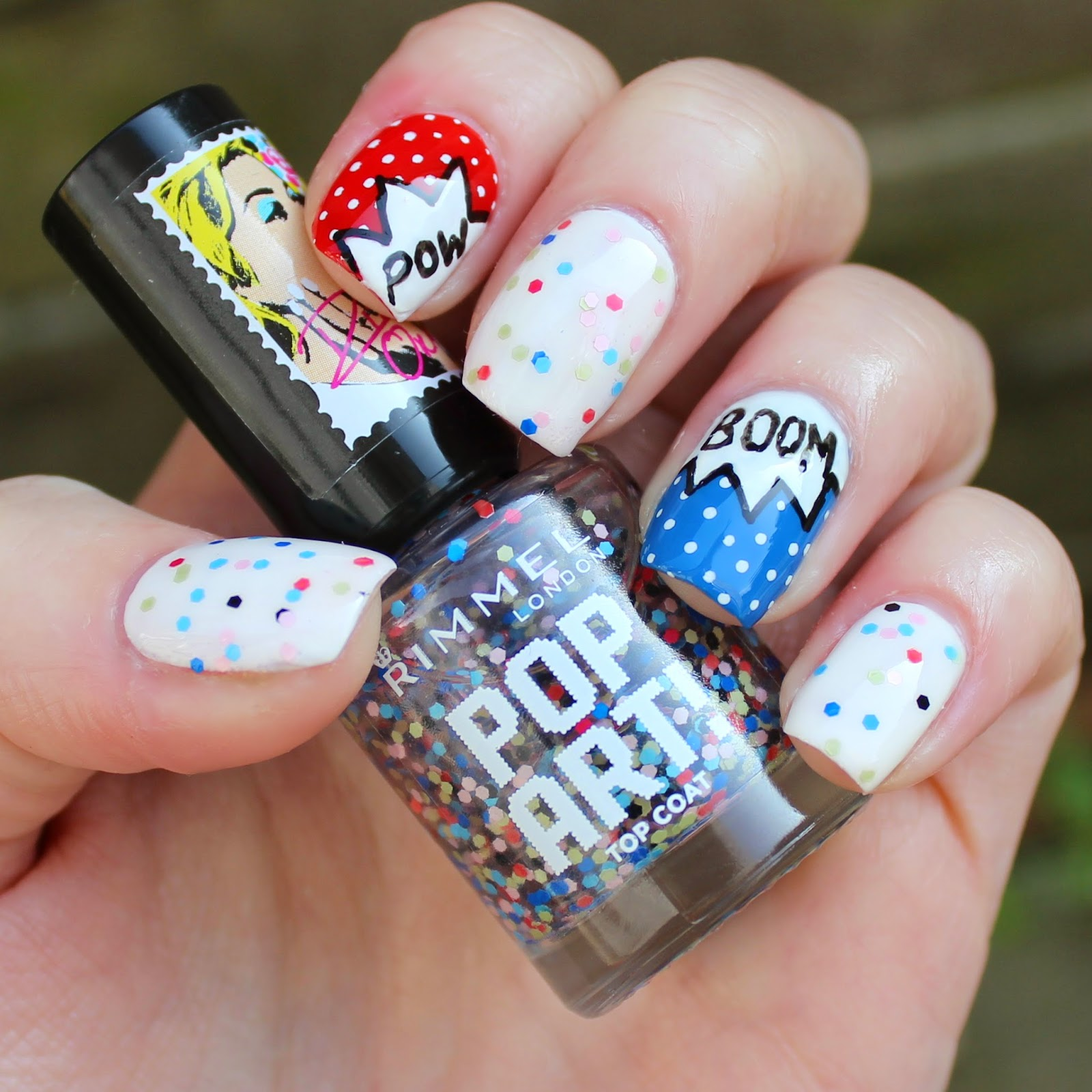 Dahlia Nails: Rimmel Rita Ora Pop Art Top Coat