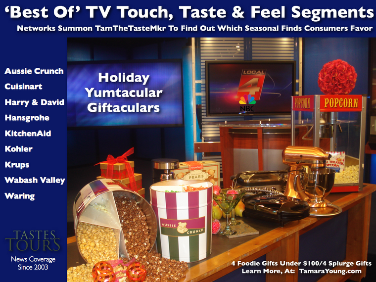 Holiday Yumtaculars A Scrumptious Way for Retailers To Be Featured On The Front Burner!