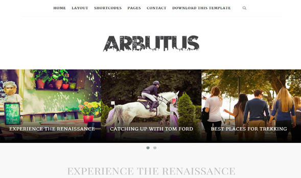 Arbutus-Responsive-Blogger-Template