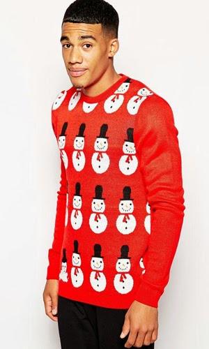 jerseys Asos hombre Navidad