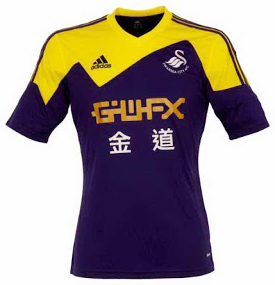 Swansea City Jersey Away