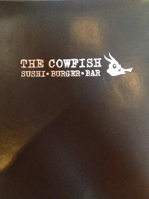 Cowfish Sushi Menu