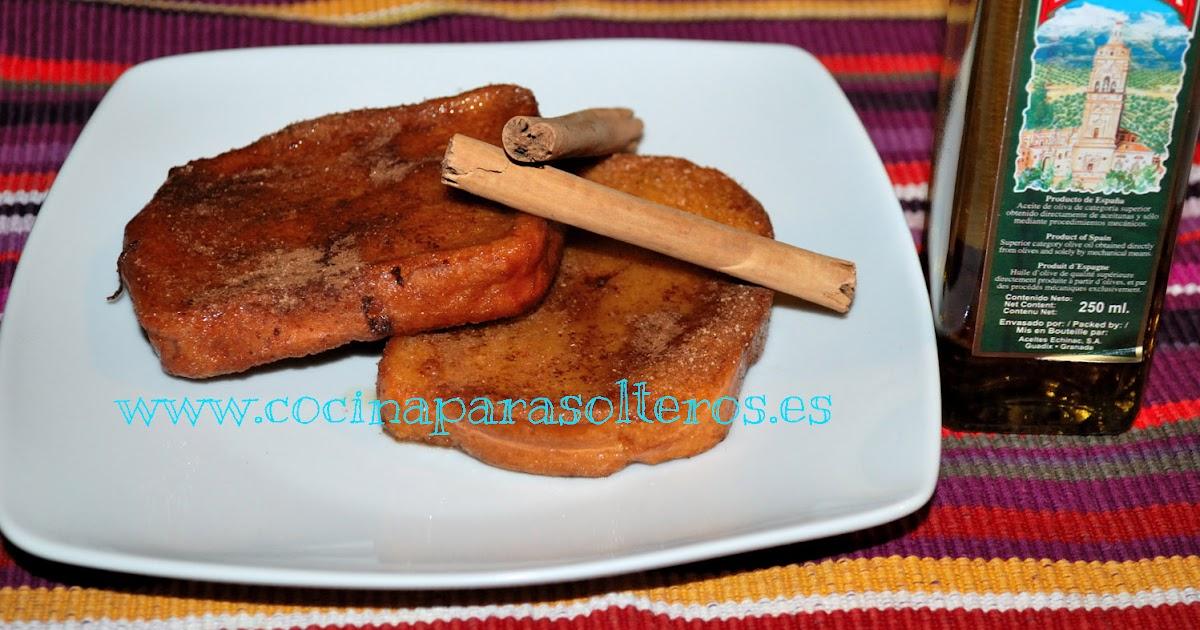 Torrijas cocina para solteros for Curso de cocina para solteros