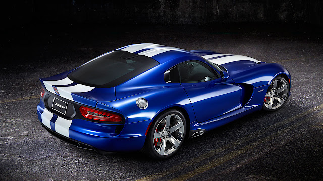 2013 Viper GTS Launch Edition back side