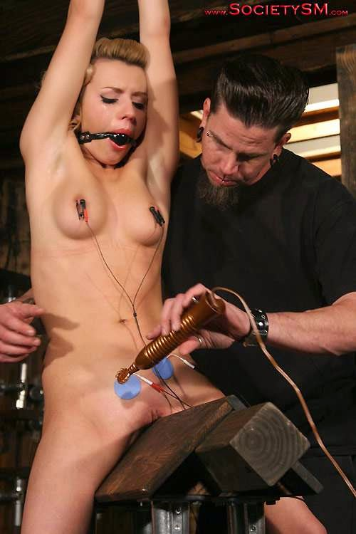 pussy and electric torture