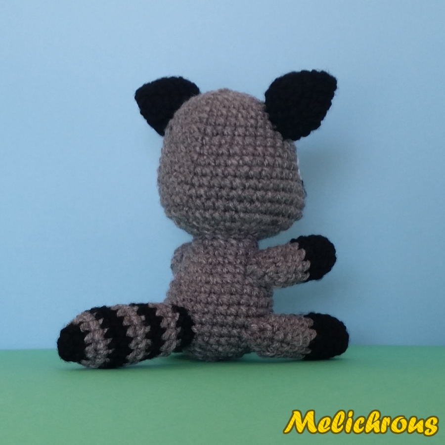 Melichrous: Razz the Raccoon Pattern