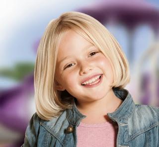 Gaya rambut pendek anak perempuan masa kini
