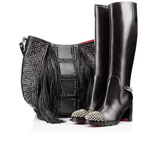 Ladies Boots Wish List | Morgan's Milieu: Christian Louboutin Napaleona boots, they're very price but a girl can dream right?