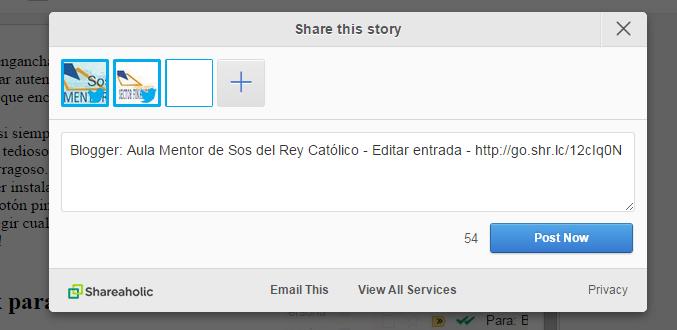 Extensiones para Chrome - Aula Mentor Sos del Rey Católico