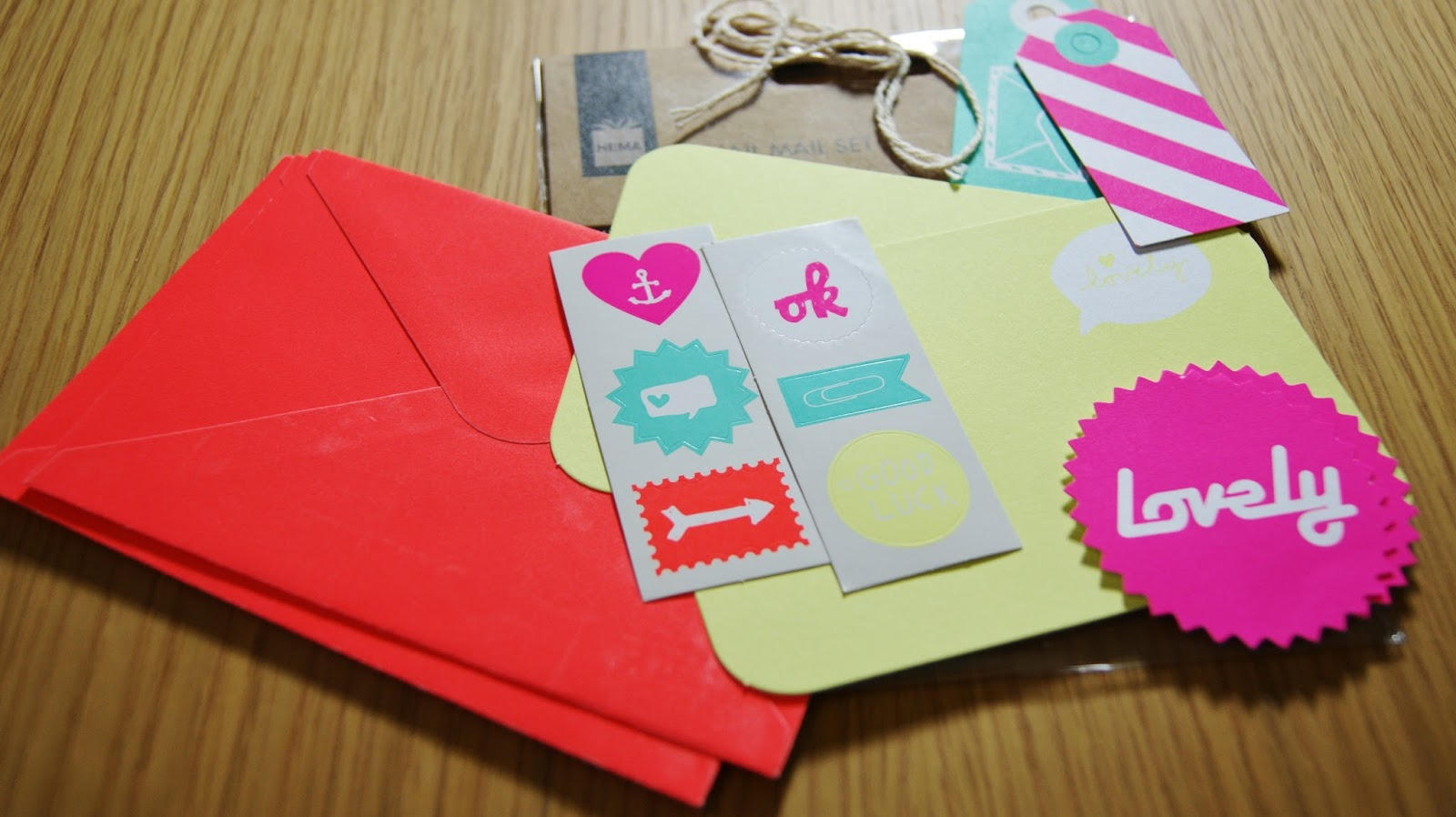 Hema Snail Mail Set