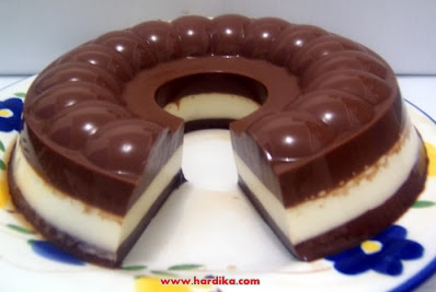 Cara Membuat Puding Coklat Enak Lezat dan Resep Puding Coklat