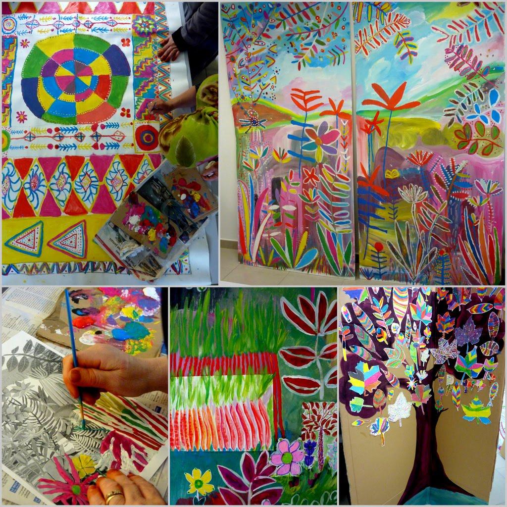 Langage, papiers, couleurs