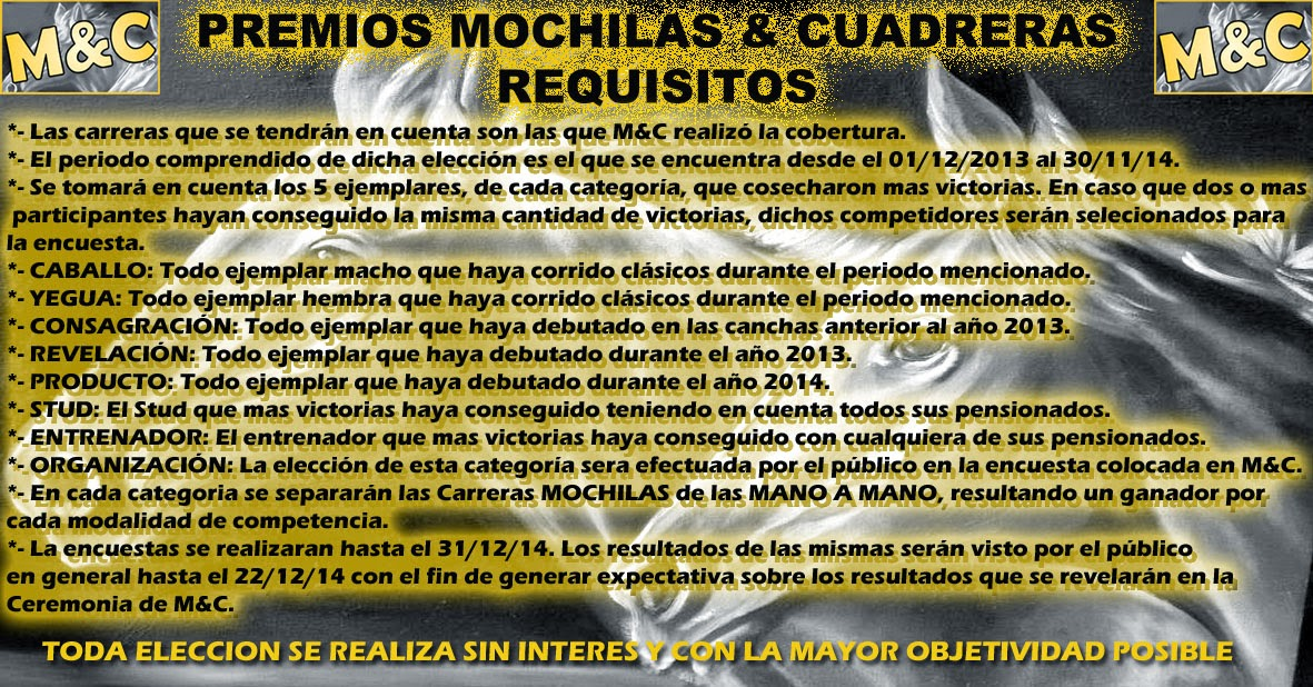 REQUISITOS M&C