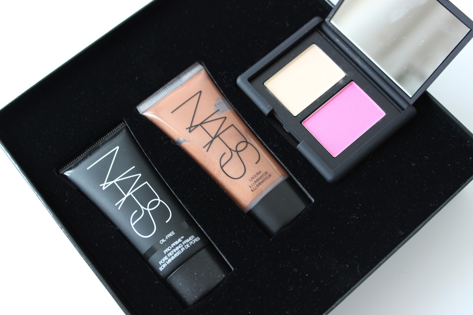 IMATS haul NARS gift set