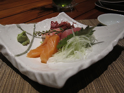 Sashimi at Edo Bangalore