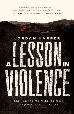 Loved it: A Lesson in Violence (aka She Rides Shotgun) by Jordan Harper