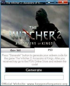 THE WITCHER 2 CD PROJEKT RED ACTIVATION CODE
