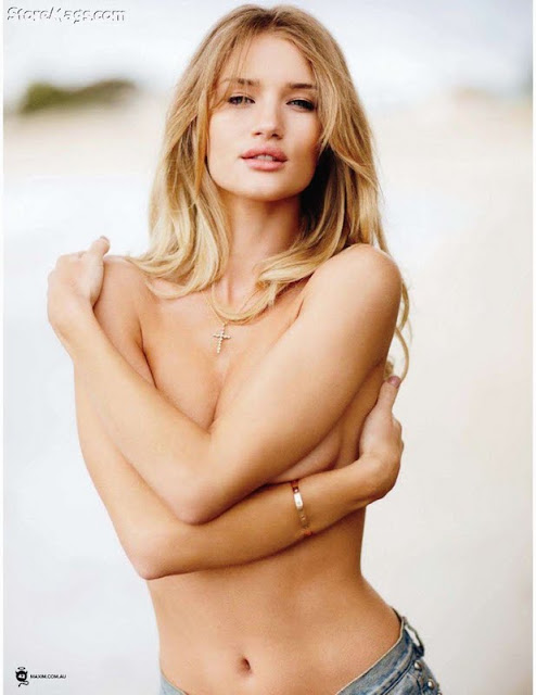 Rosie Huntington-Whiteley Sexy In Maxim Australia