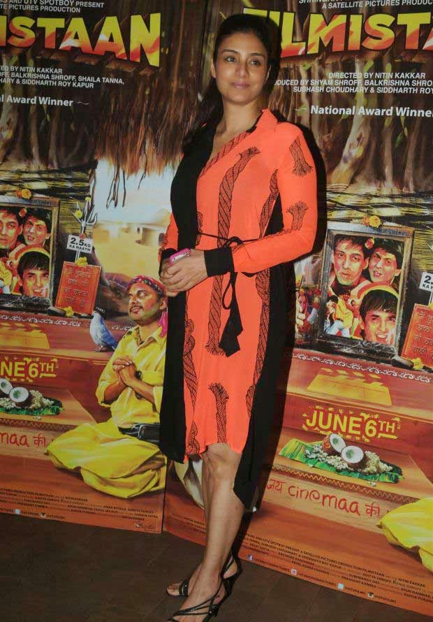Tabu at Special Screening of Movie Filmistaan